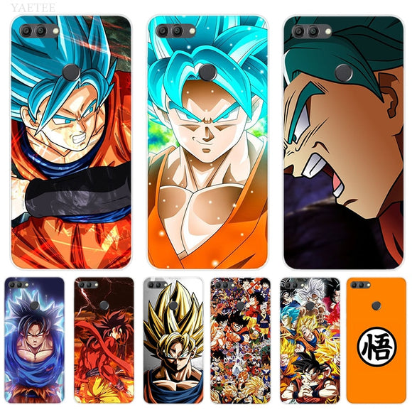 Coque Dragon Ball Son Goku Pour Huawei Y7 Y6 Y5 Prime Pro Y9 2019 2018 Honor 8X 8C Play 9 10 lite