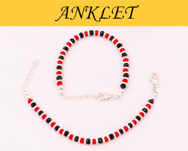 Silver Anklets and Toe Rings