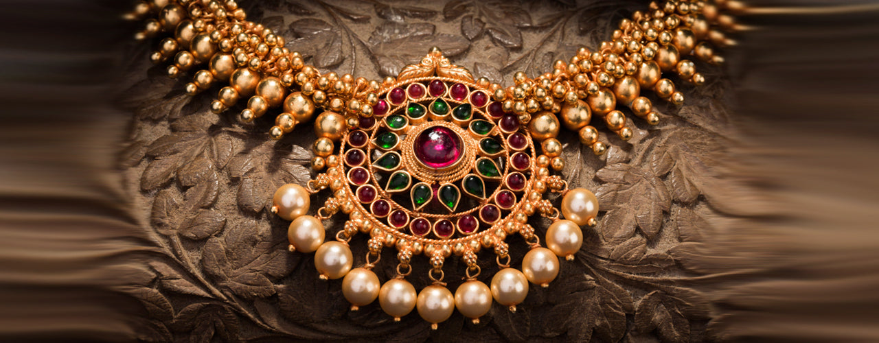 Temple jewellery buy authentic temple jewelry designs online ko pratha temple jewellery in silver aloadofball Choice Image