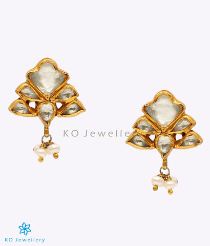The Zyan Silver Jadau Earrings