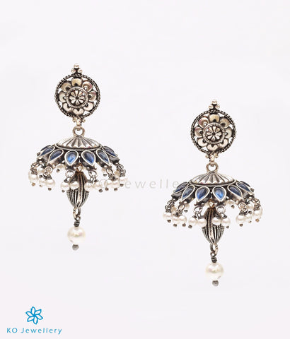 Ornately handcrafted temple jewellery earrings online shopping India