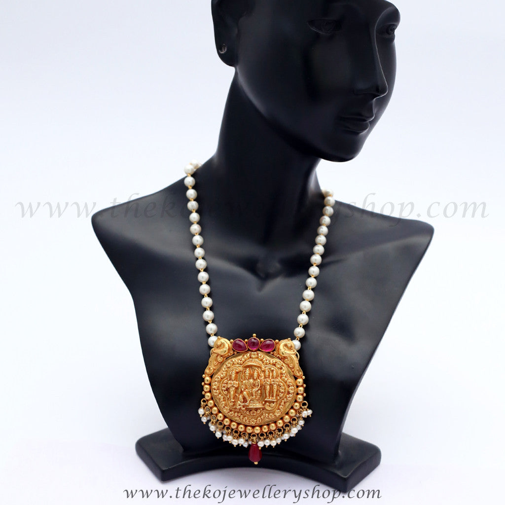 The viloma kokkethathi silver pearl necklace buy online cod shop online for womens gold plated silver pendant aloadofball Image collections