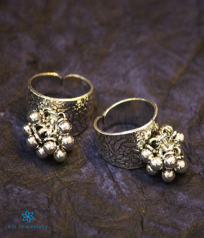 The Ksemya  Silver Toe-Rings