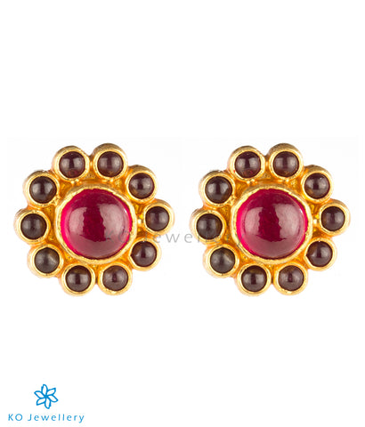 Temple jewellery earrings for office wear