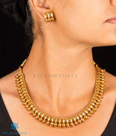 Gold dipped silver necklace set KO online