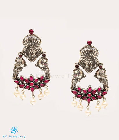 Unique heritage temple jewellery earrings