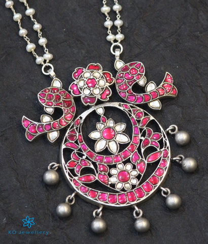 The Omrah Silver Kundan-Jadau Necklace.
