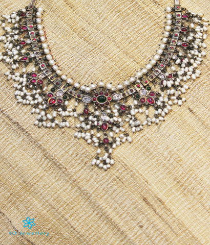 The Pavana Silver Guttapulusu Necklace