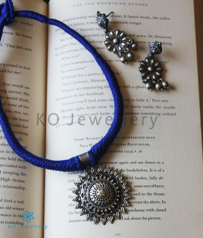 The Mana Silver Thread Necklace