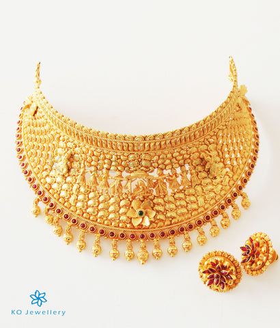 The Vadhu Silver Bridal Necklace