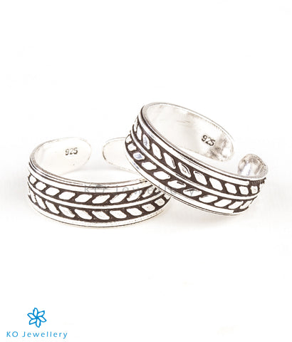 The Parna Silver Toe-Rings
