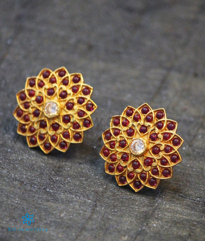 The Aikya Silver Ear-studs
