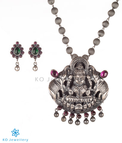 The Shrinika Silver Pendant