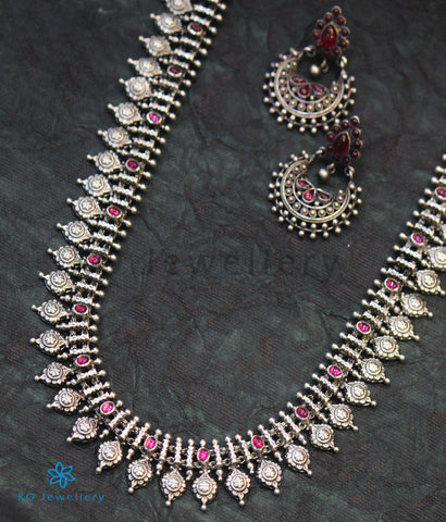 Copy of The Abhita Silver Necklace