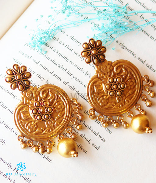 Earrings: Jaipur Silver Jewellery - Gold Plated