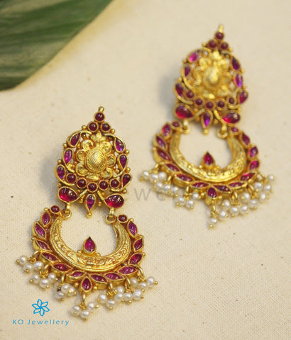 The Pranati Silver Chand Bali Earrings