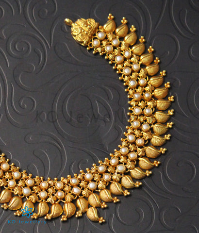 The Mukta Silver Pearl Necklace