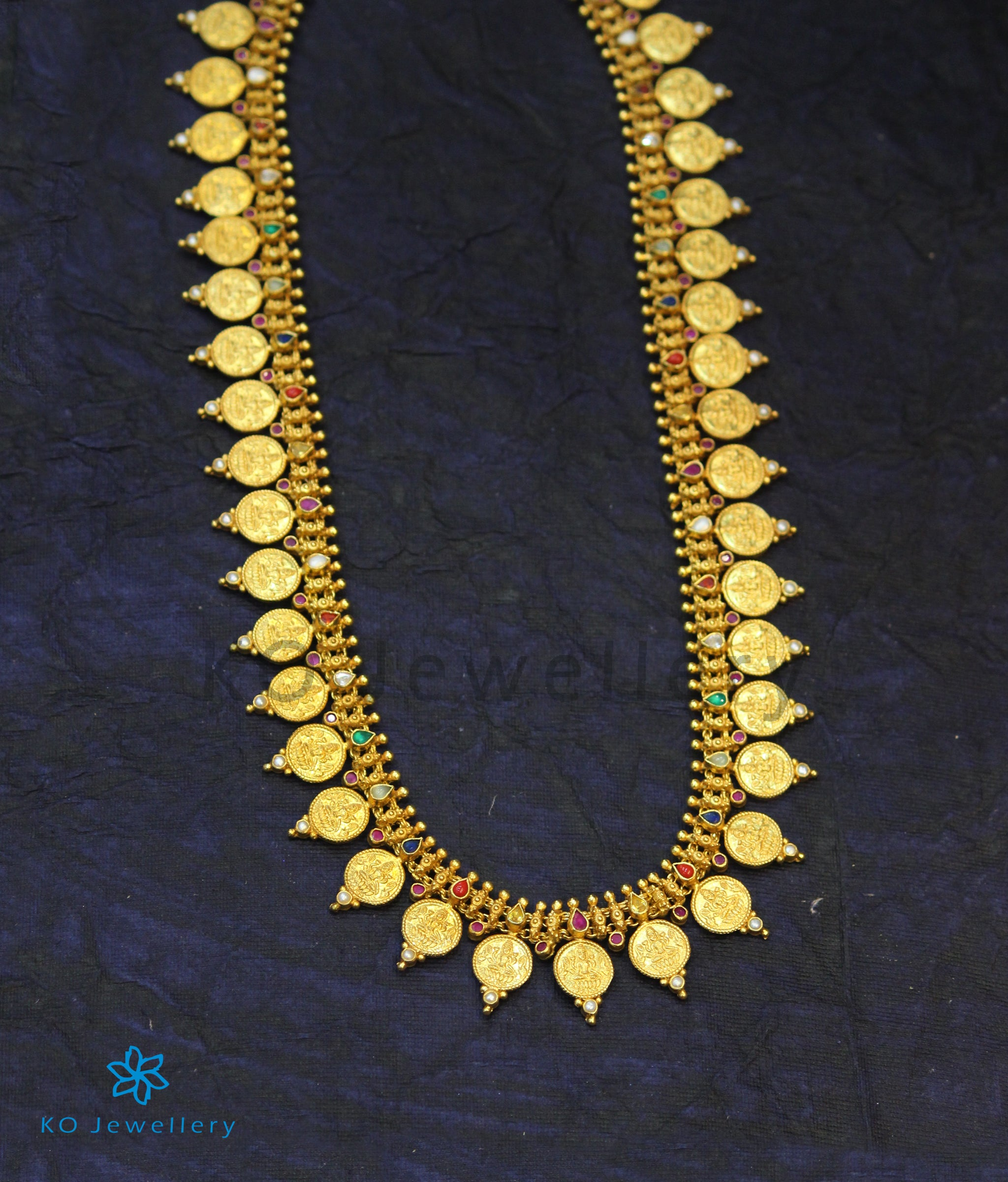 Indian goddess silver and gold plated temple jewellery