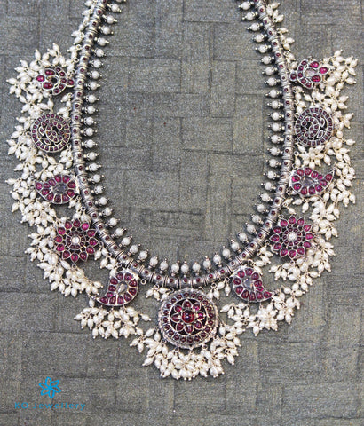 The Atyuha Silver Guttapulusu Necklace