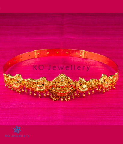 The Shrinika Silver Lakshmi Oddiyanam Waist belt