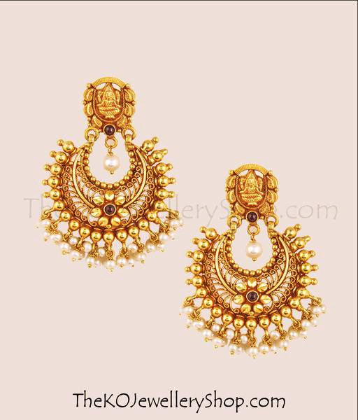 The Asmita Silver Chand-Bali Earrings