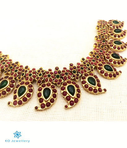 The Suvarna Manga Malai Necklace set (Big)