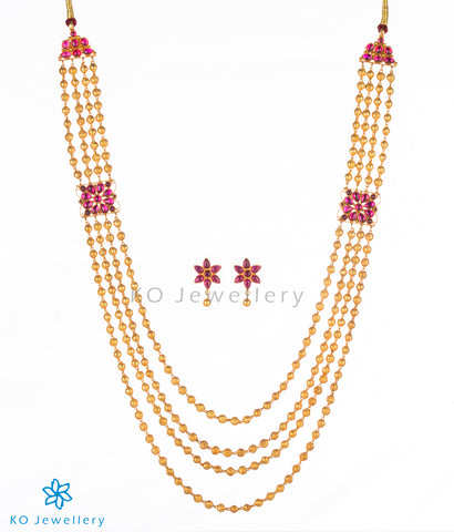 Lovely gold plated Indian bridal jewellery set