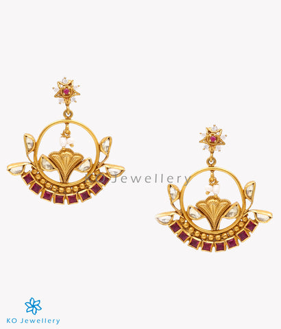 Buy vintage kundan earrings online