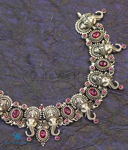 The Gajrup Silver Ganesha Necklace