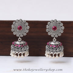 Shop online for 925 silver jhumka for women