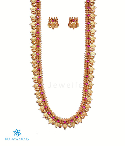 The Pratha Kasu-malai Necklace Set