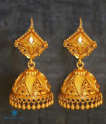 The Supta Silver Jhumka