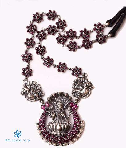 The Adishesha Antique Silver Necklace