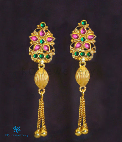 The Praval Silver Earrings