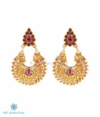 Handmade South Indian temple jewellery earrings online