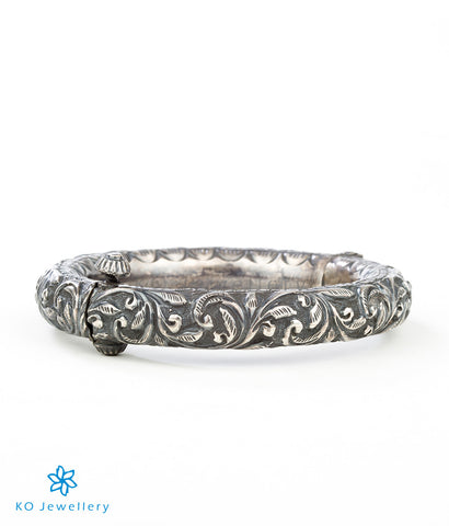 The Keya Antique Silver Bracelet