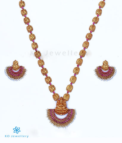 The PushpaLakshmi Silver Necklace