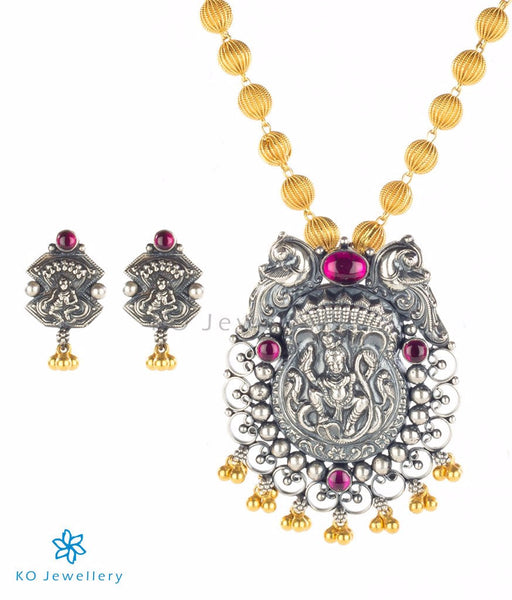 Pure Silver and Gold Plated Silver Necklaces Under Rs.5000
