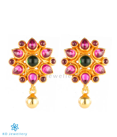 Antique temple jewellery daily wear ear studs