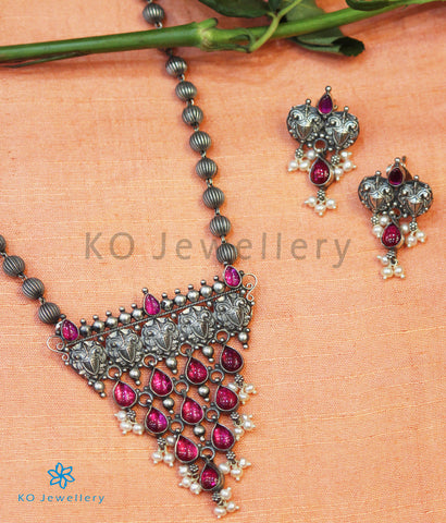 The Varsiddhi Silver Necklace (Oxidised)