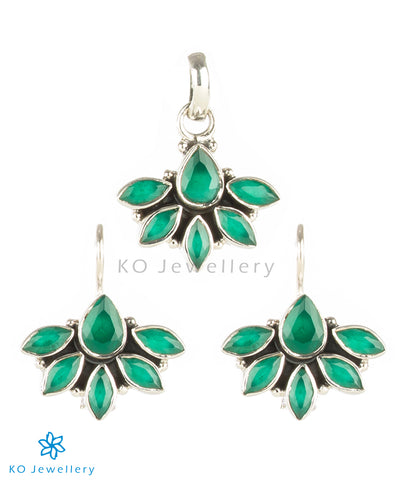 Green zircon Jaipur gemstone jewellery online