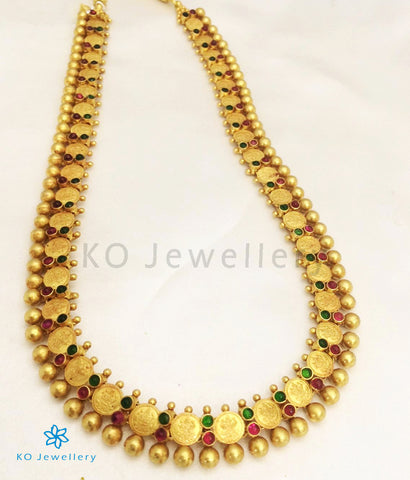The Laxmi Kasu-mala Silver Necklace