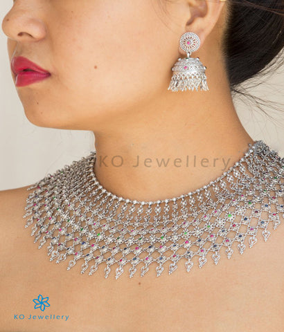 The Rani-Haar Silver Necklace (Big)