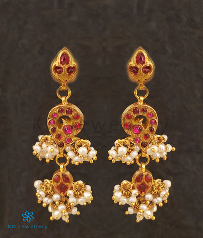 The Uzma Silver Kundan Earrings
