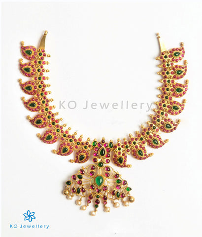The Kadamba Silver Mango Necklace