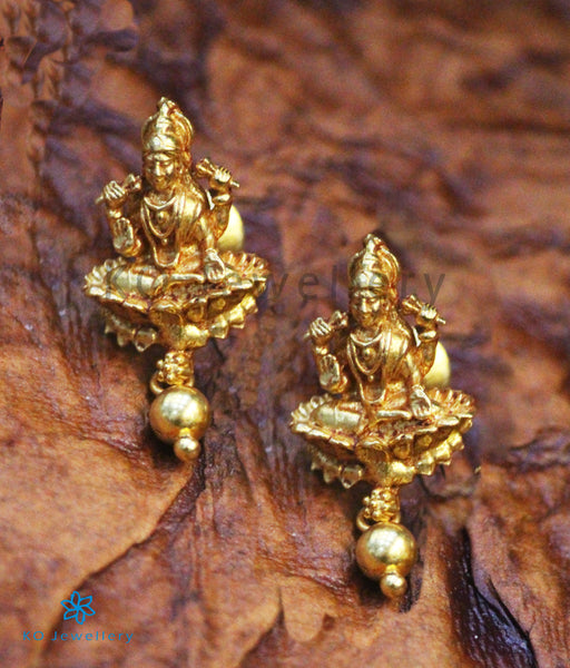 Devi Goddess Motif Jewellery - Gold Plated Silver