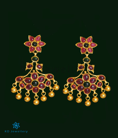 The Saras Silver Chand Bali Earrings