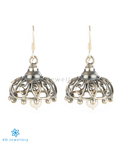 Dainty office wear jhumkas online shopping