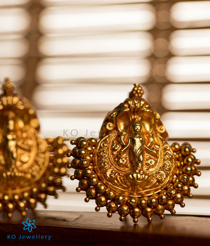The Kamakshi Silver Pendant Set