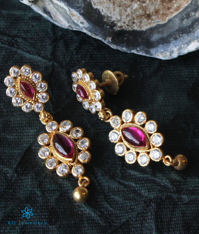 The Santushti Silver Earrings